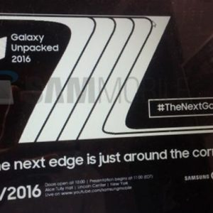 undangan launching note 7